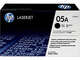 Genuine HP Black Toner Cartridge  (HP05A) CE505A