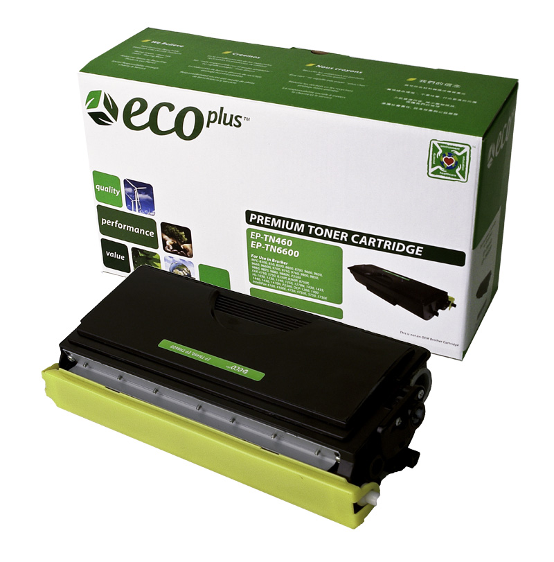 Black Toner Cartridge compatible with the Brother TN-450 (2600 page yield)