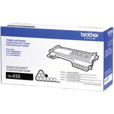 Genuine Brother Black Toner Cartridge compatible with the Brother TN-450/TN450 (2600 page yield)